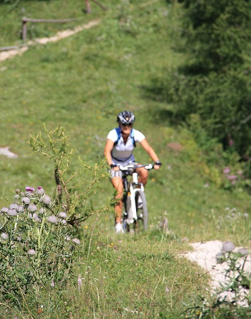 Frauenpower Mountainbike